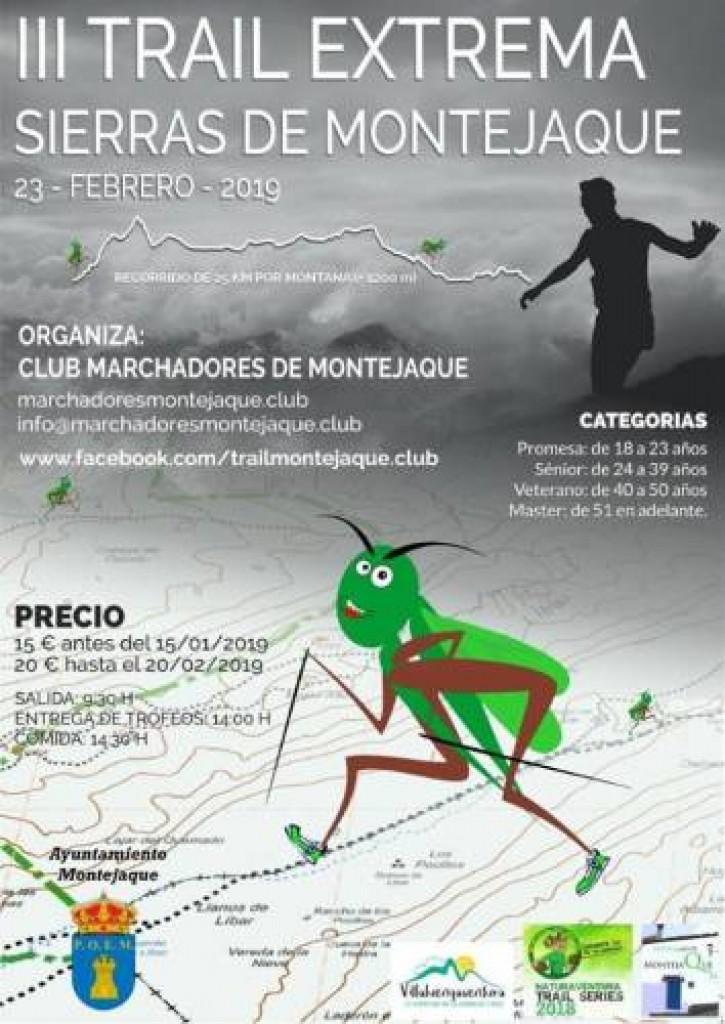 III Trail Extrema Sierras de Montejaque - Malaga - 2019