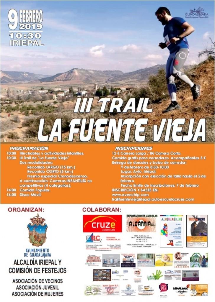 III Trail Iriepal La Fuente Vieja - Guadalajara - 2019