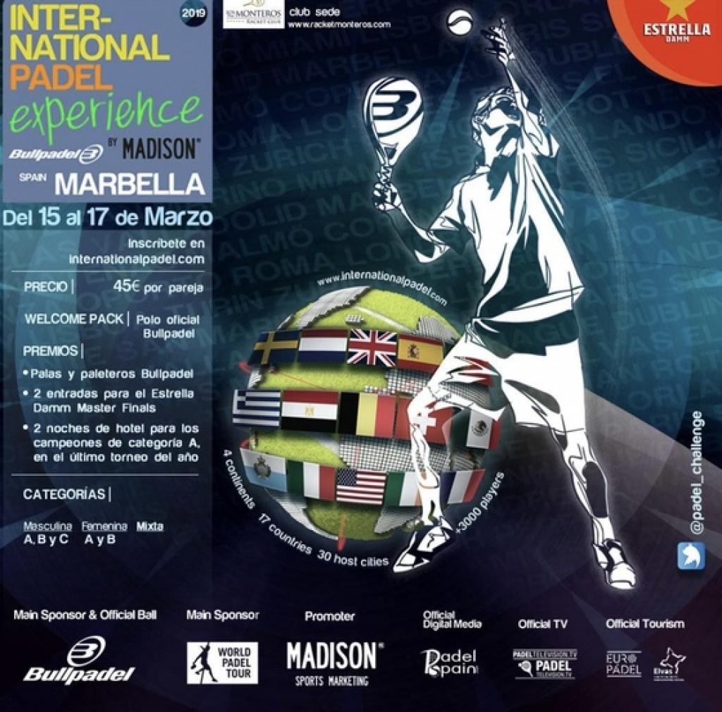 INTERNATIONAL PADEL EXPERIENCE - Marbella - 2019