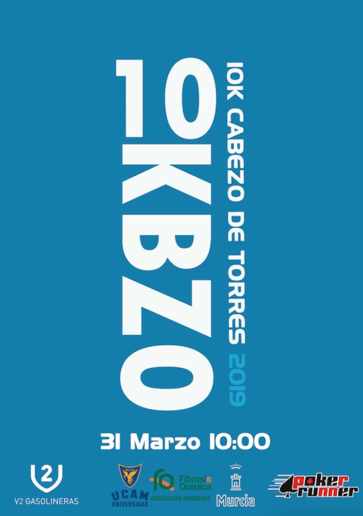 IV 10K CABEZO DE TORRES - V2 GASOLINERAS - Murcia - 2019