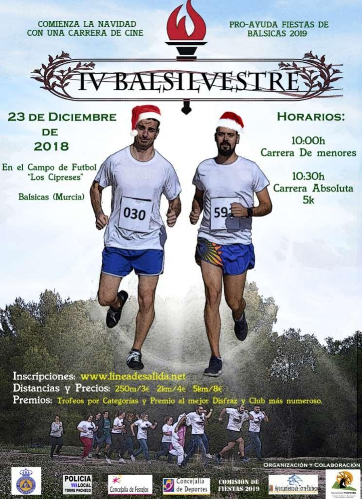IV Balsilvestre - Murcia - 2018