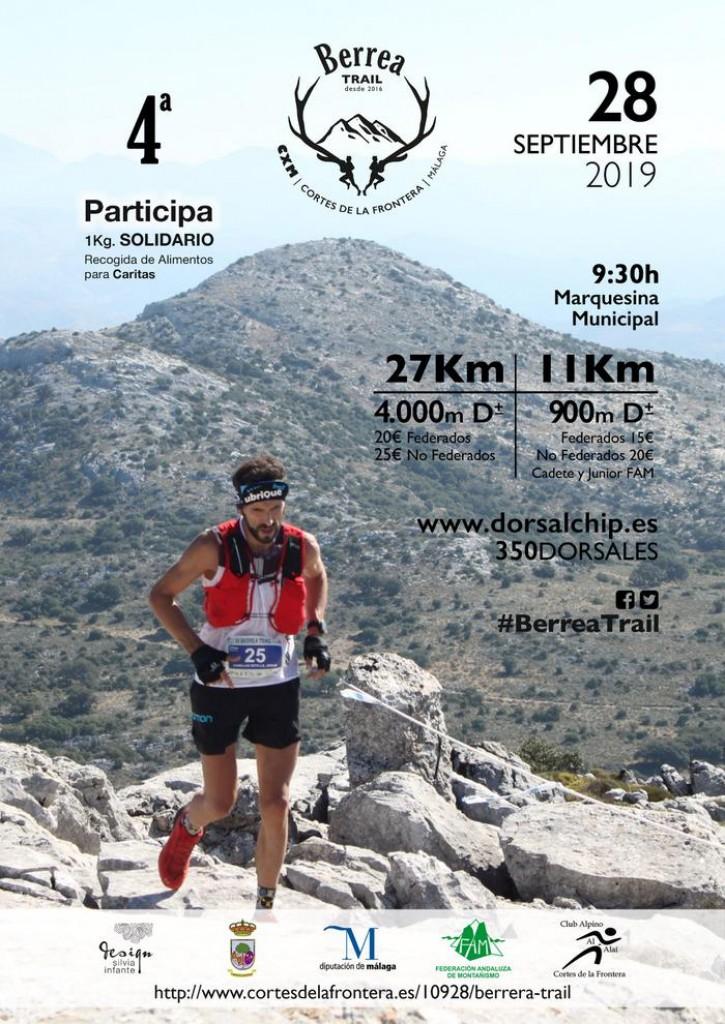 IV Berrea Trail - Málaga - 2019