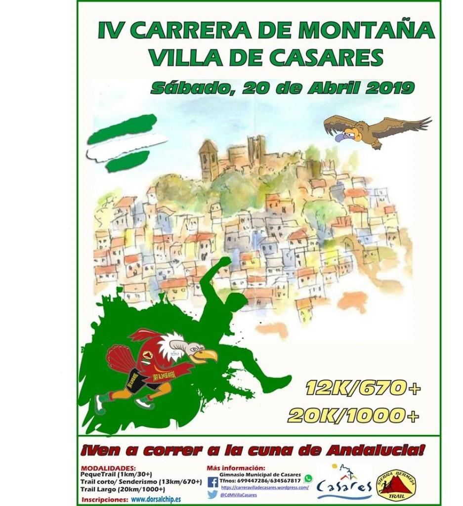 IV Carrera de Montaña Villa de Casares - Malaga - 2019