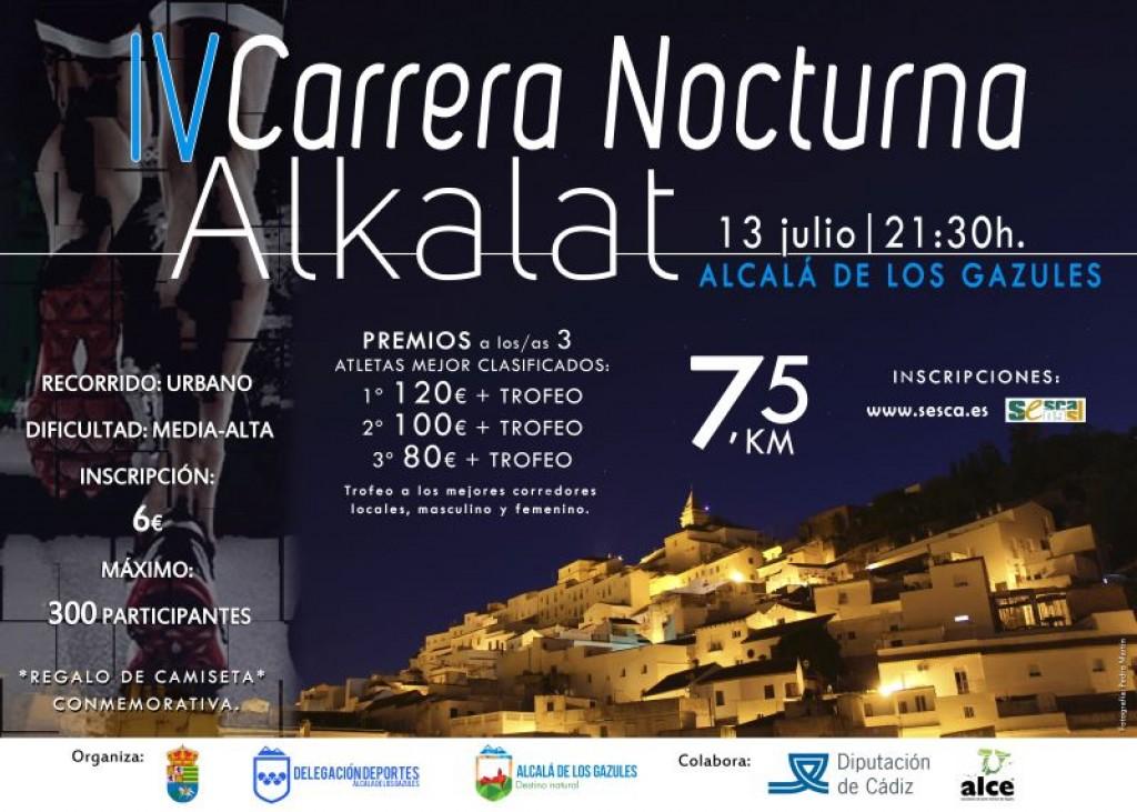IV Carrera Nocturna ALKALAT - Cádiz - 2019