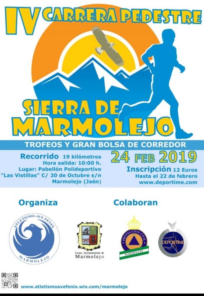 IV Carrera Pedestre Sierra de Marmolejo - Jaen - 2019