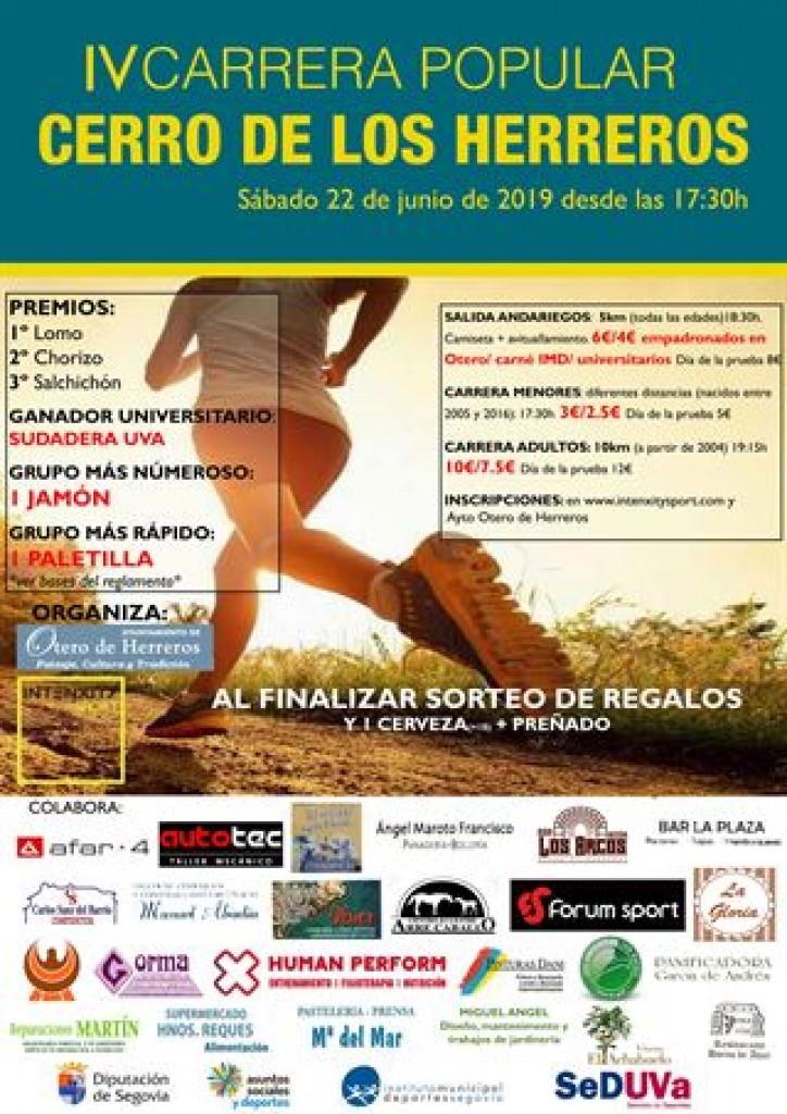 IV CARRERA POPULAR CERRO DE LOS HERREROS - Segovia - 2019