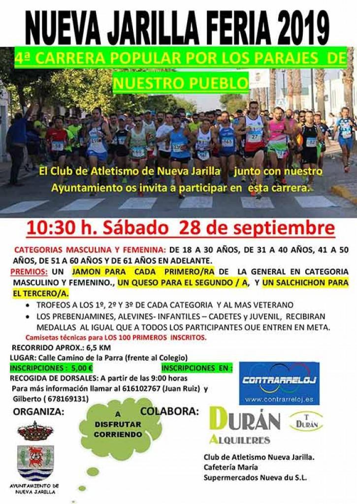IV Carrera Popular Nueva Jarilla - Cádiz - 2019