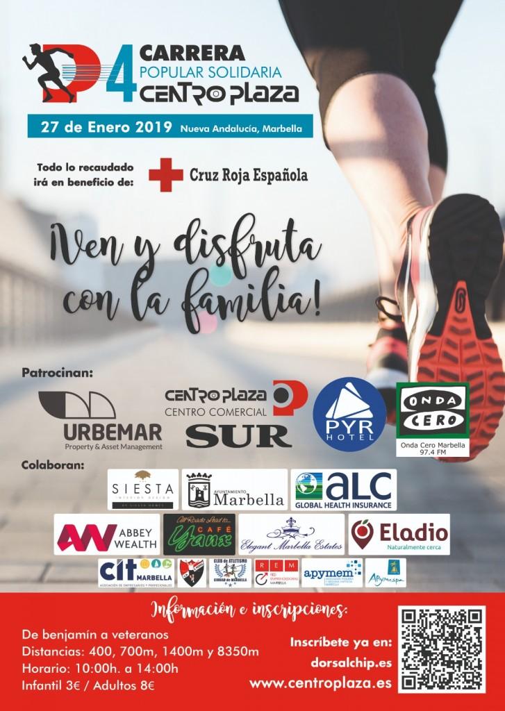 IV CARRERA SOLIDARIA CENTRO PLAZA MARBELLA - Malaga - 2019
