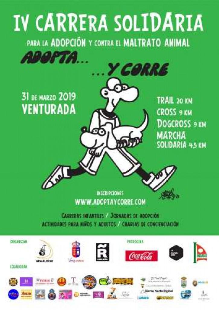 IV Carrera Solidaria por la Adopción y Contra el Maltrato Animal TRAIL - Madrid - 2019