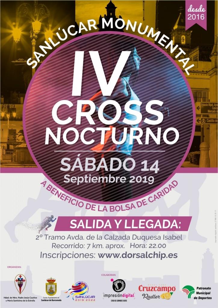 IV Cross Nocturno Sanlúcar Monumental - Cádiz - 2019