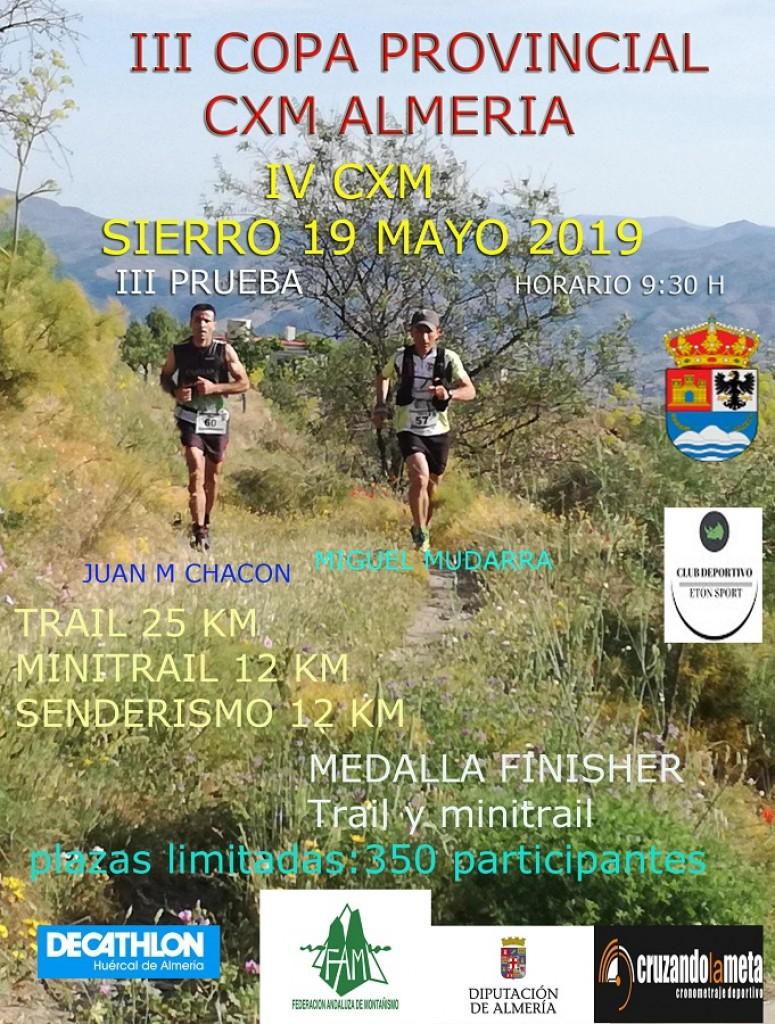 IV CxM Sierro - Almería - 2019