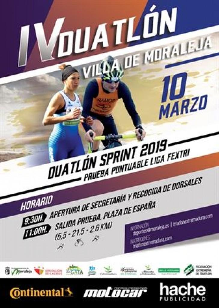 IV Duatlón Villa de Moraleja - Cáceres - 2019