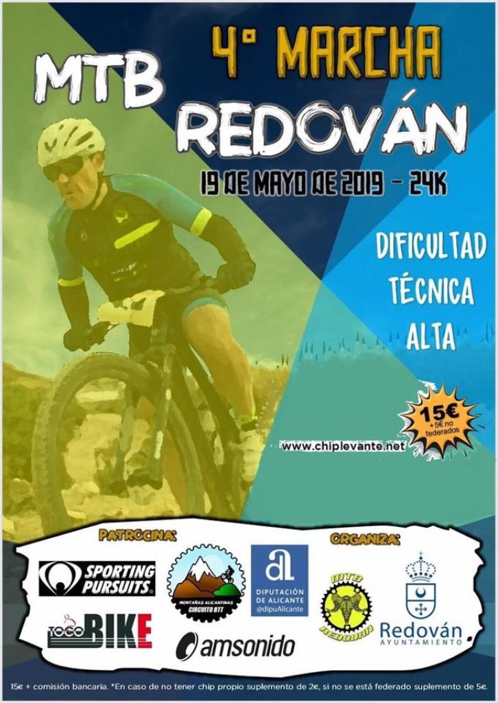 IV Marcha MTB Redovan - Alicante - 2019