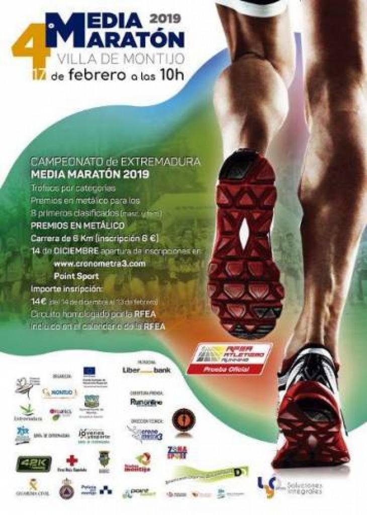 IV Media Maratón Villa de Montijo - Badajoz - 2019