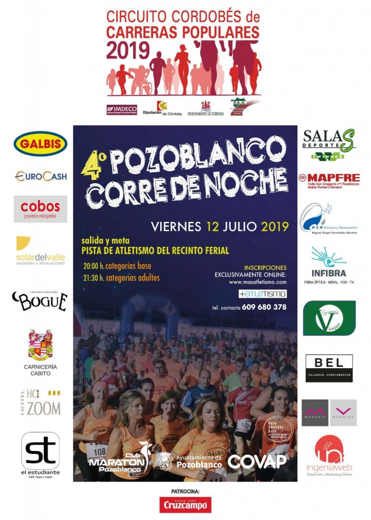 IV Pozoblanco Corre por la Noche - Córdoba - 2019