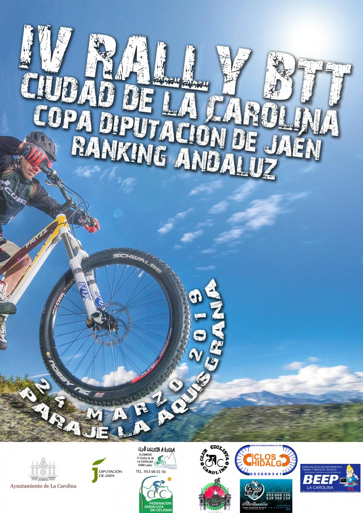 IV RALLY BTT CIUDAD DE LA CAROLINA - Jaén - 2019