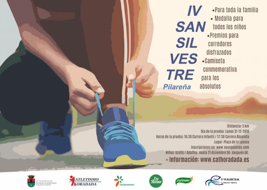 IV SAN SILVESTRE PILAREÑA - Alicante - 2018