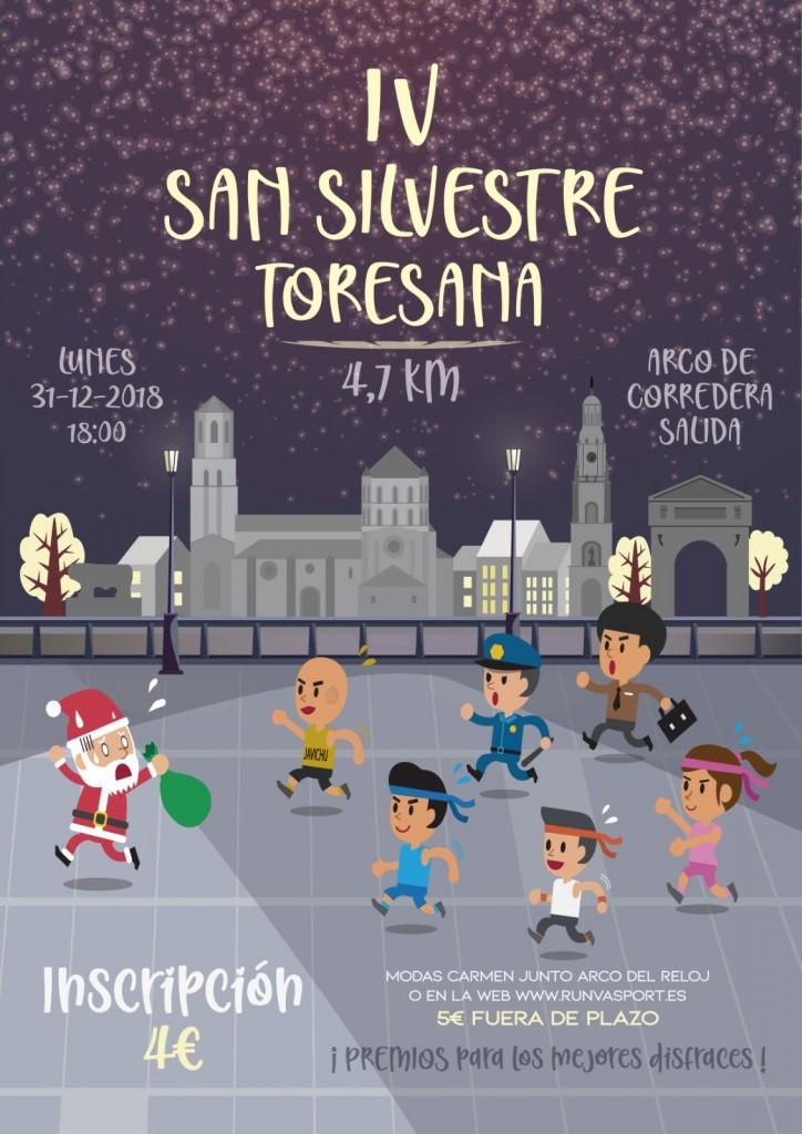 IV San Silvestre Toresana - Zamora - 2018