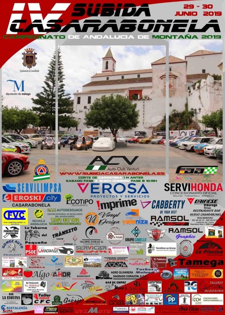 IV SUBIDA CASARABONELA - Málaga - 2019