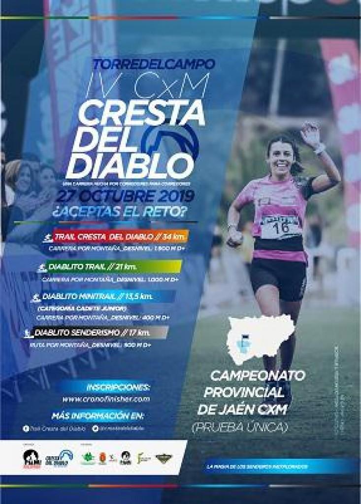 IV Trail La Cresta del Diablo CxM - Jaén - 2019