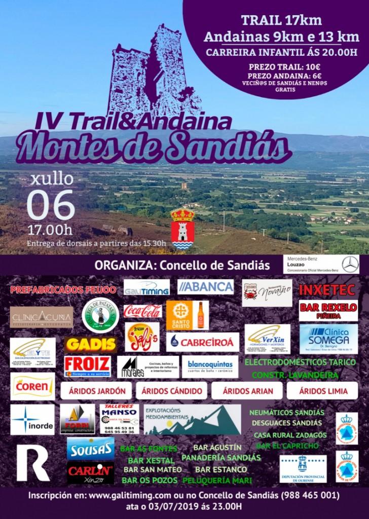 IV Trail Montes de Sandiás - Ourense - 2019