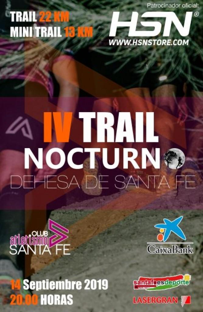 IV Trail Nocturno Dahesa de Santa Fe - Granada - 2019