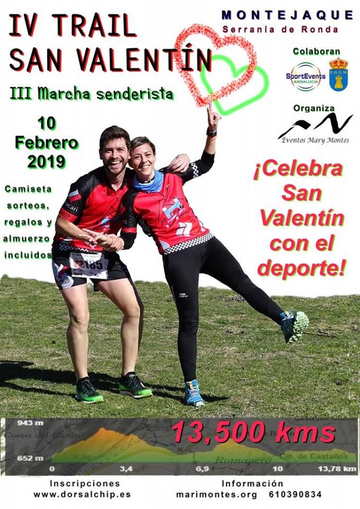 IV Trail San Valentín - Malaga - 2019