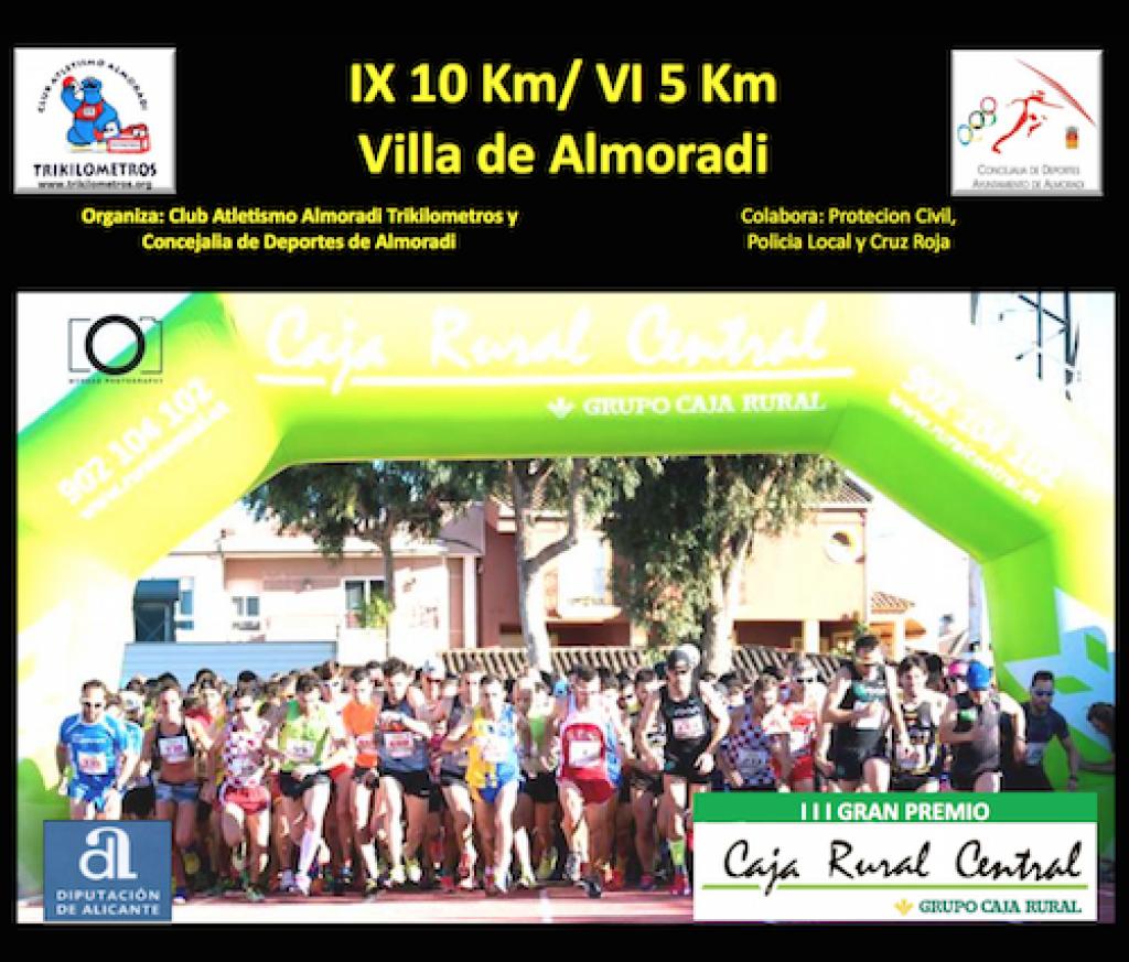 IX 10KM Y VI 5KM VILLA DE ALMORADI -III GRAN PREMIO CAJA RURAL-