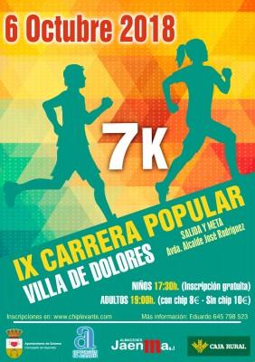 IX CARRERA POPULAR VILLA DE DOLORES