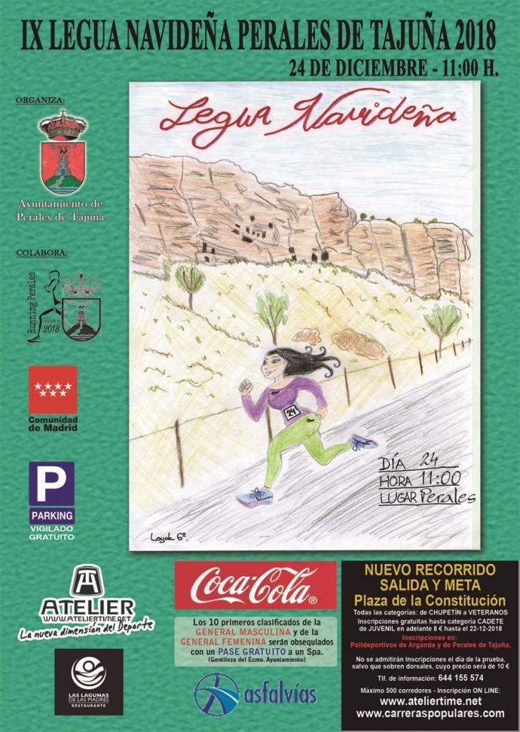 IX LEGUA DE PERALES DE TAJUÑA - Madrid - 2018