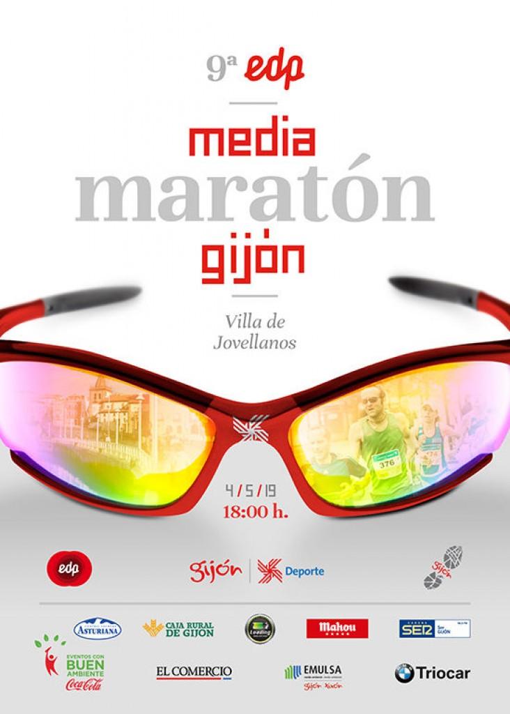 IX Media Maratón de Gijón Villa de Jovellanos - Asturias - 2019