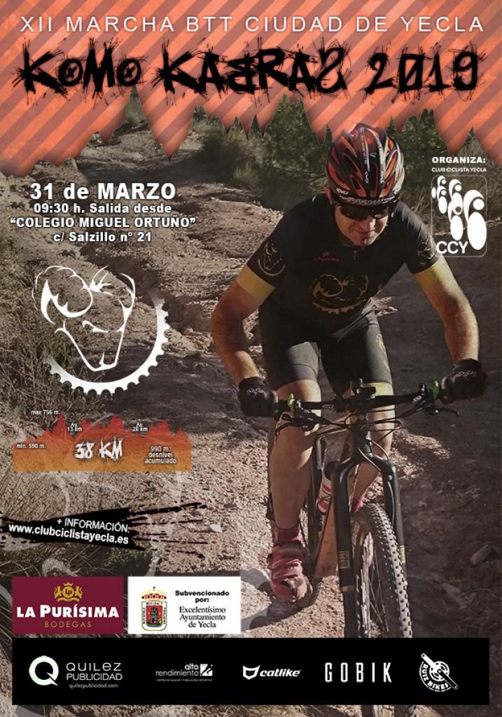 KOMO KABRAS 2019 XII Marcha BTT Ciudad de Yecla - Murcia