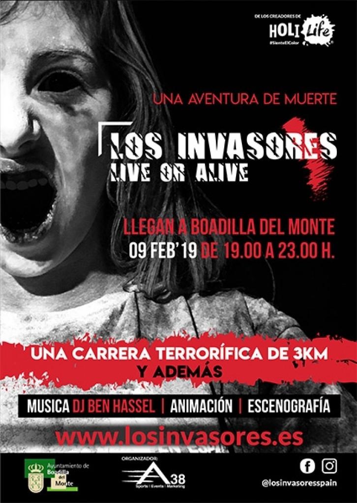 LOS INVASORES en Boadilla del Monte 1st Edition 09-02-2019 - Madrid