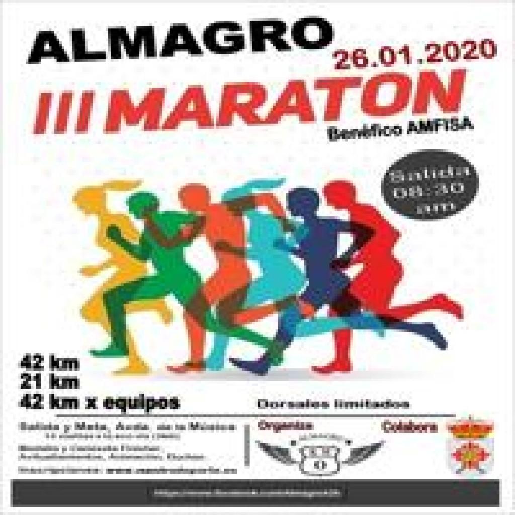 MARATON DE ALMAGRO - Ciudad Real - 2020