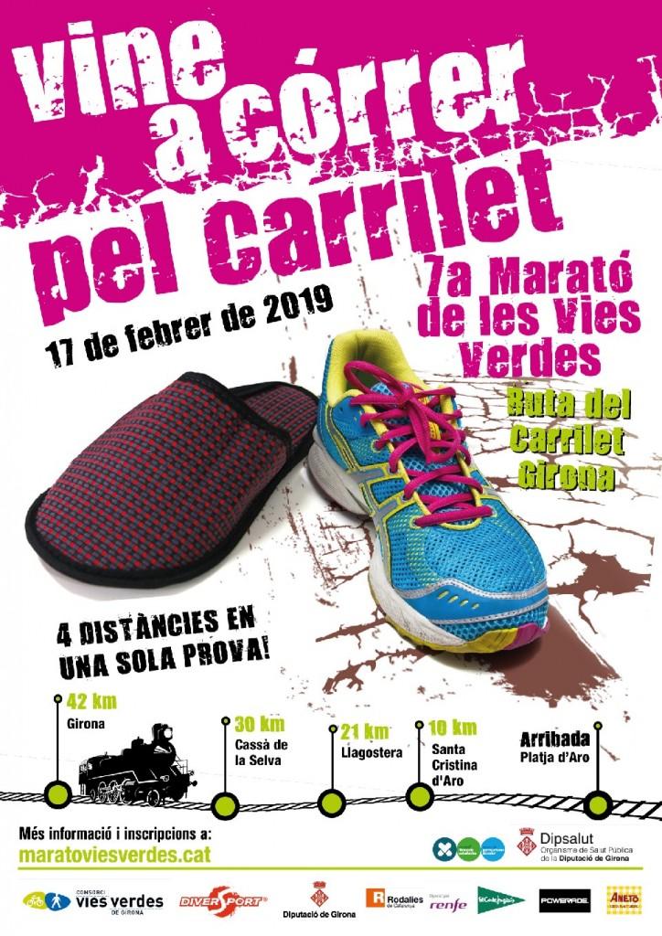 Maratón Vias Verdes Girona - 2019