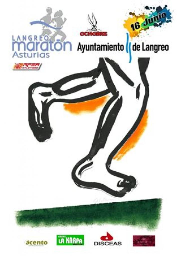 Maratón y Medio Maraton Langreo 2019 - Asturias