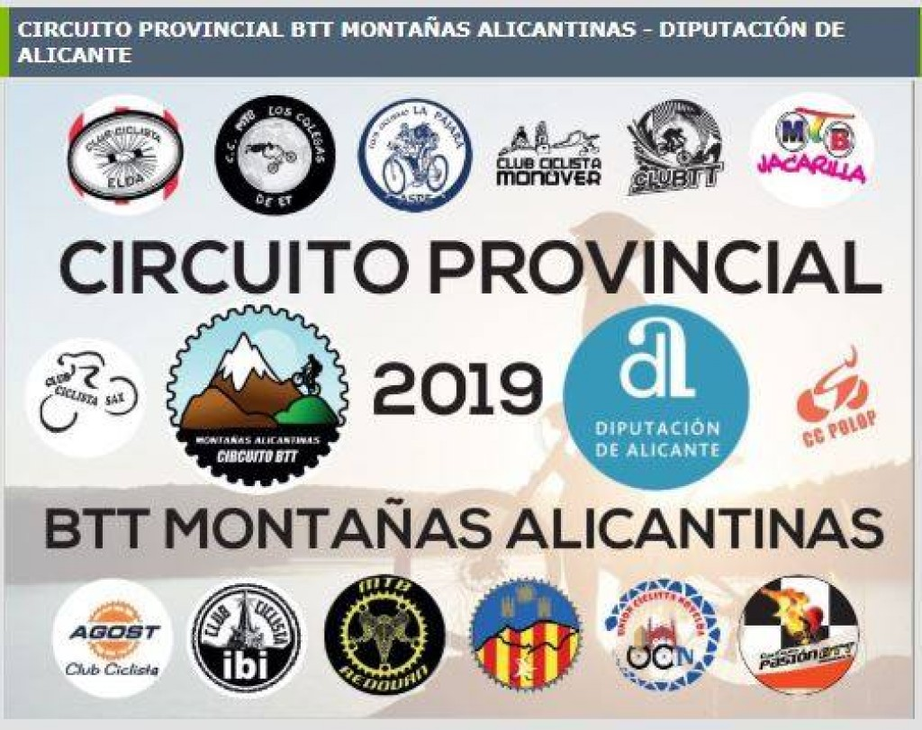 Marcha BTT Orihuela (circuito Provincial BTT Montañas Alicantinas) 2019