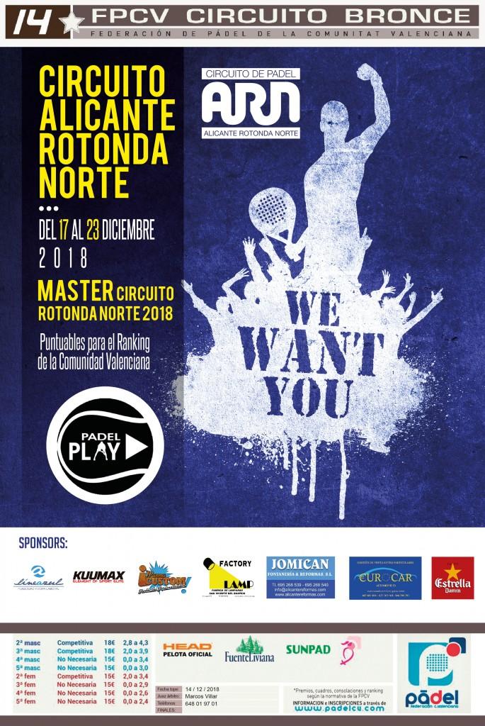 MÁSTER CIRCUITO ROTONDA NORTE 2018 - Alicante