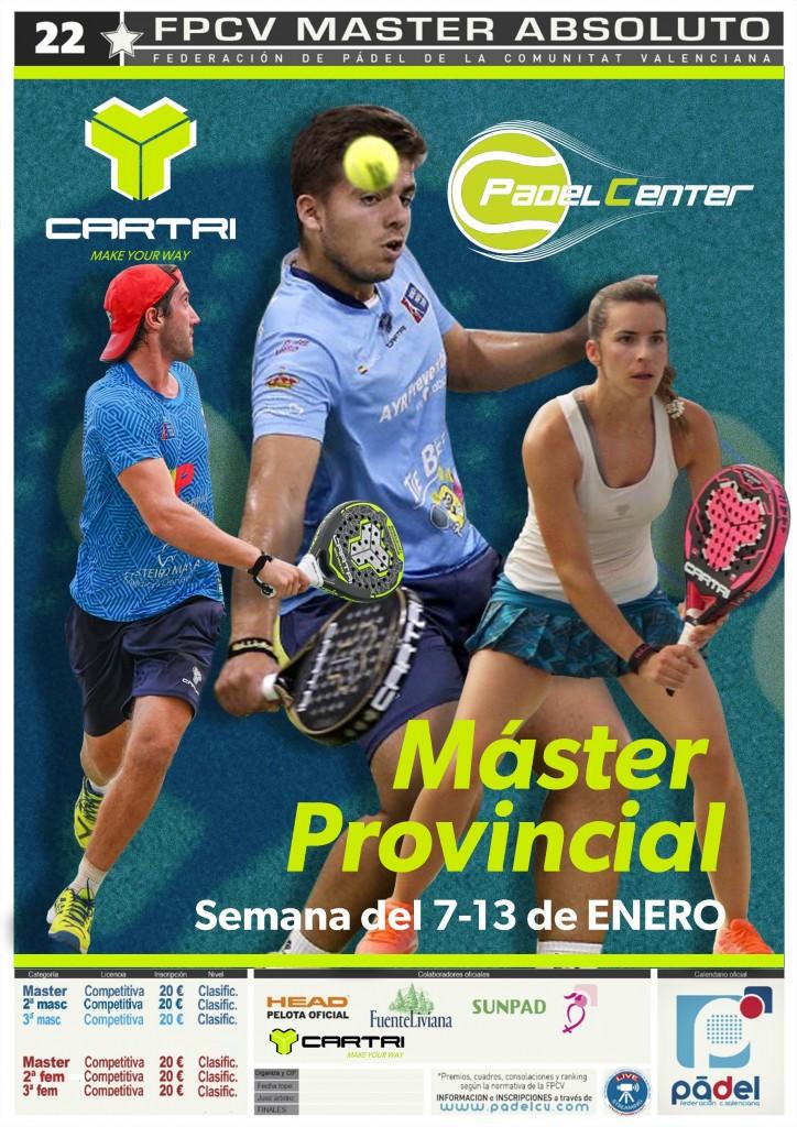 MASTER PROVINCIAL CS 10-13/ENE PADELCENTER - Castellon - 2019