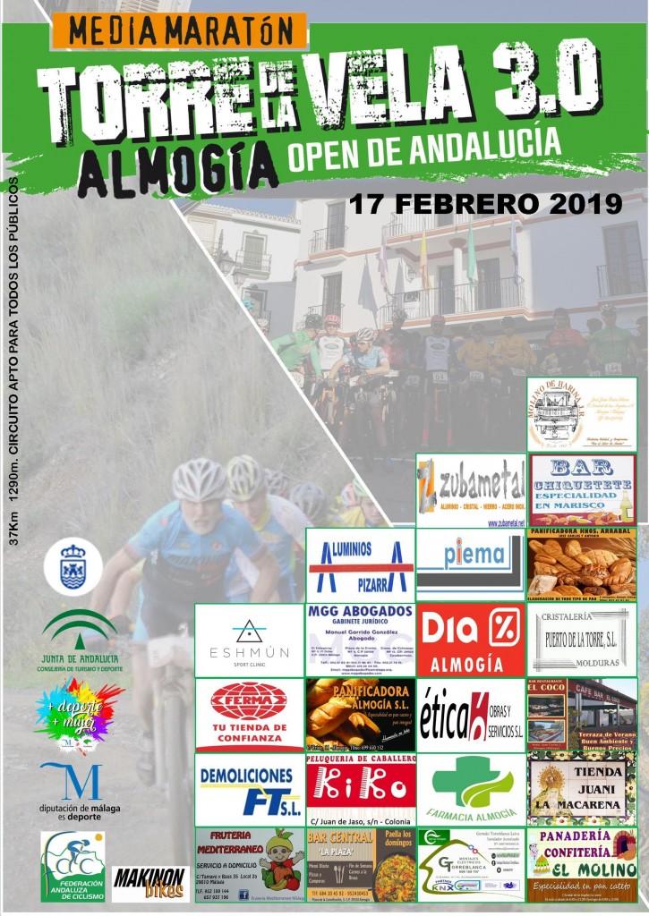 MEDIA MARATON TORRE DE LA VELA 3.0 ALMOGIA - Malaga - 2019