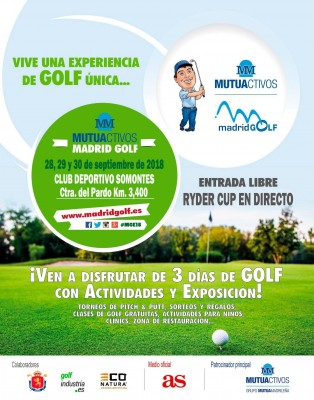 Mutua activos Madrid Golf 2018