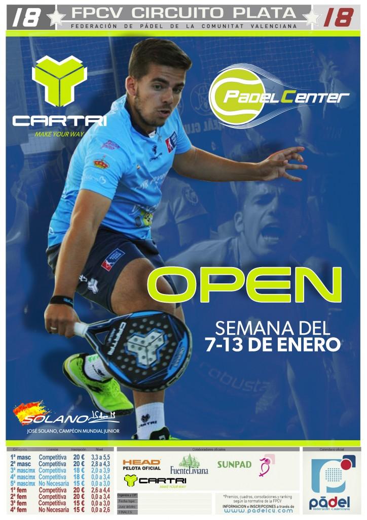 OPEN MASTER CS. 8-13/ENE PADELCENTER - Castellon - 2019