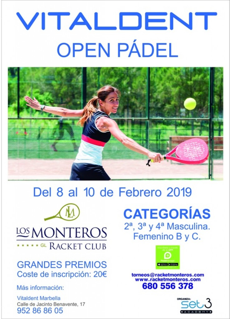 OPEN PADEL VITALDENT - Málaga - 2019
