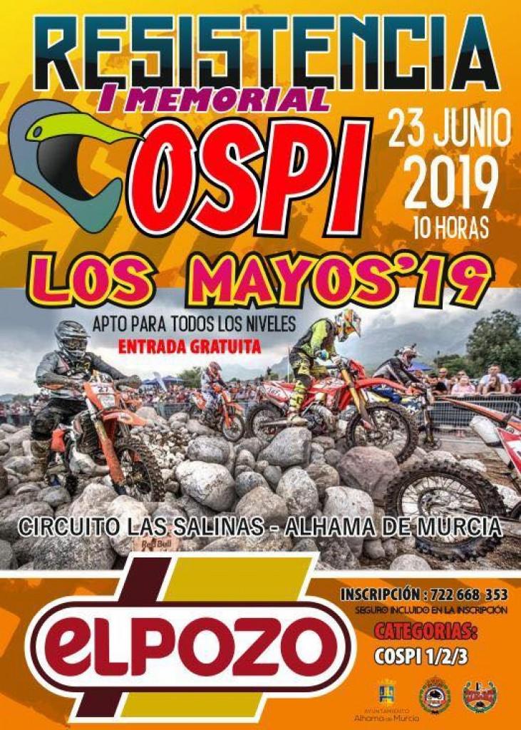 Resistencia Enduro I Memorial Cospi Los Mayos 2019 - Murcia