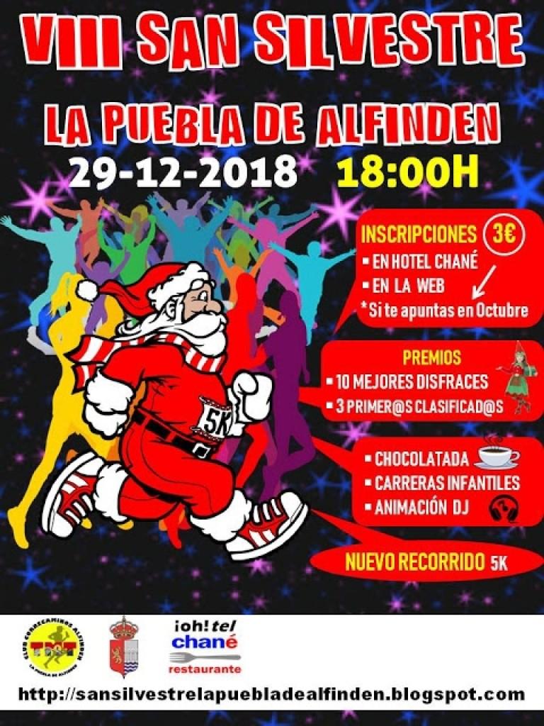 SAN SILVESTRE LA PUEBLA DE ALFINDEN - Zaragoza - 2018
