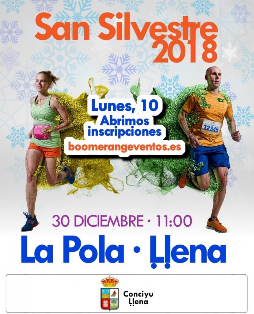 San Silvestre Lena 2018 - Asturias
