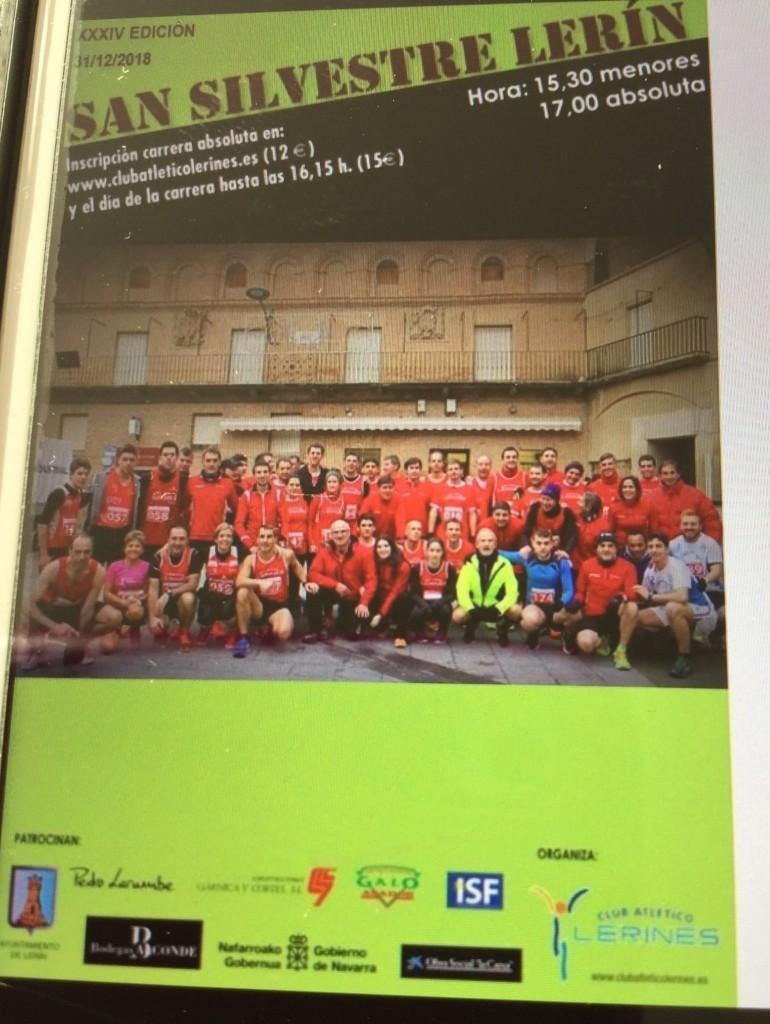 San silvestre Lerin 2018 - Navarra