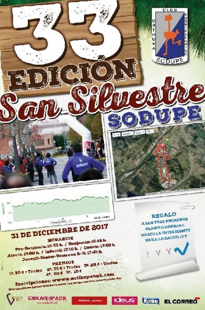 SAN SILVESTRE SODUPE 2018 - Bizkaia