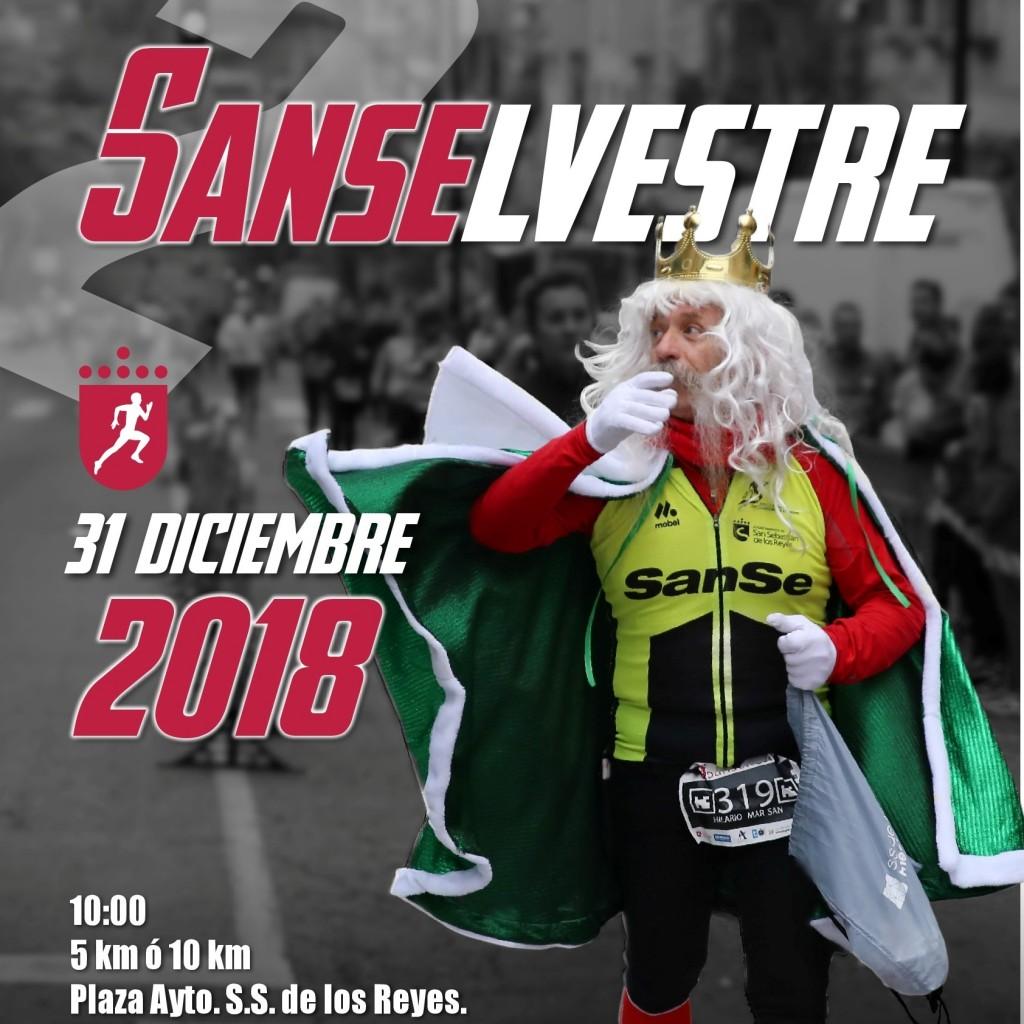 Sanselvestre 2018 - Madrid