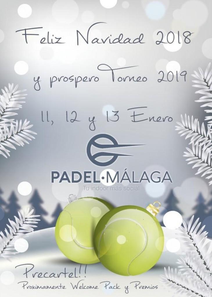 TORNEO DE PADEL 11, 12 Y 13 DE ENERO - Malaga - 2019